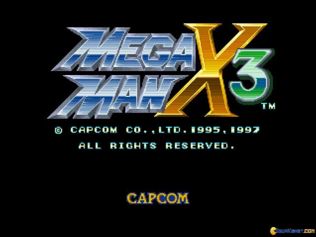Mega Man X3 - game cover