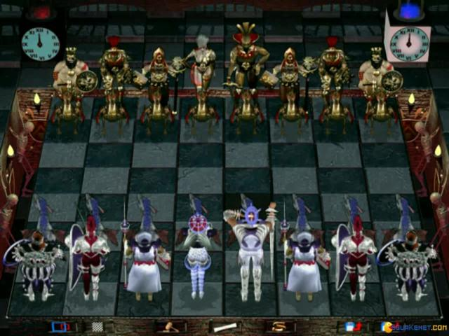 Combat Chess - game cover