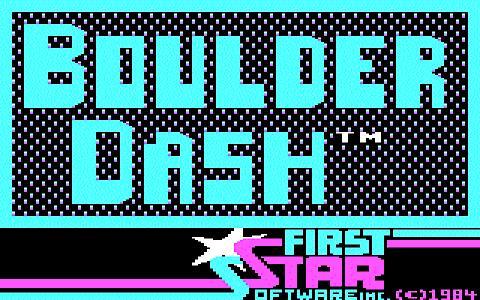 Boulder Dash - title cover