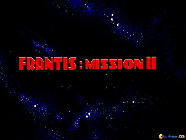 Frantis: Mission II - title cover
