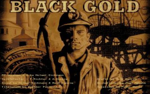 Black Gold (Starbyte) - title cover