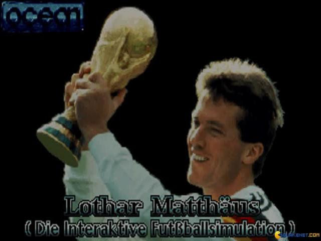 Lothar Matthaus - game cover
