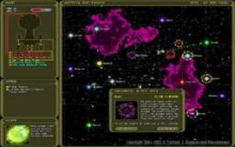 Strange Adventures in Infinite Space - title cover
