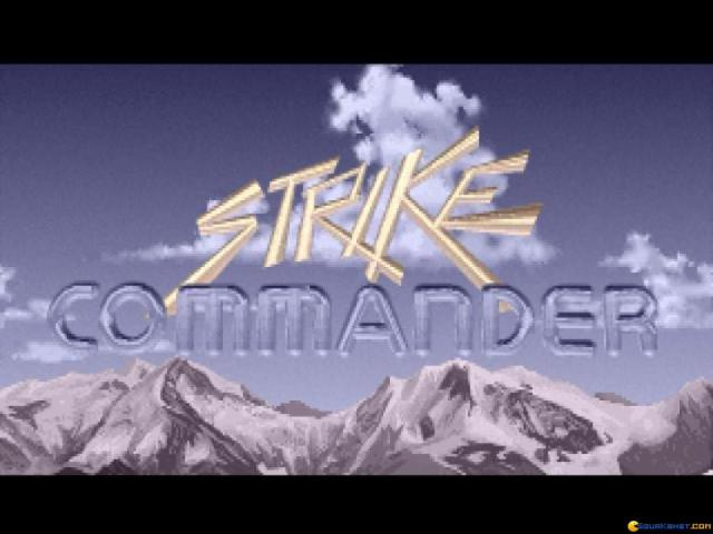 Strike Commander - title cover