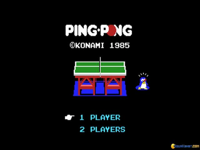 Ping Pong - game cover