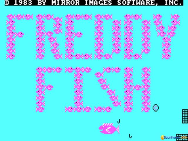 Freddy Fish - title cover