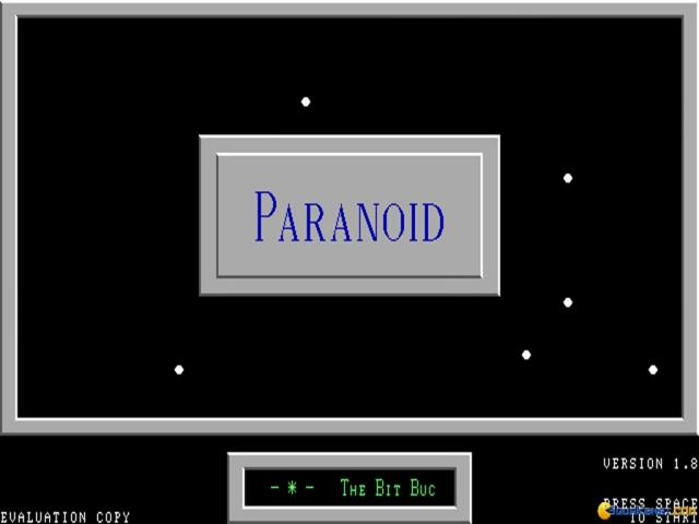 Paranoid - title cover