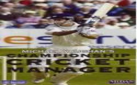 Michael Vaughan's Championship Cricket Manager - game cover