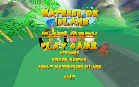 Waterslide Island - title cover