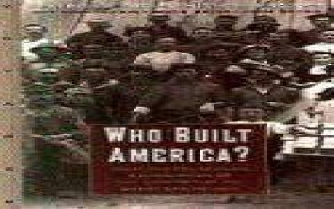 Who Built America? - title cover