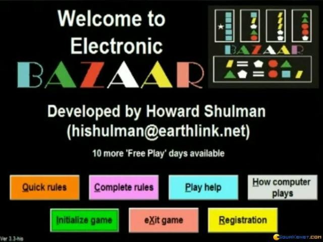 Bazaar - title cover