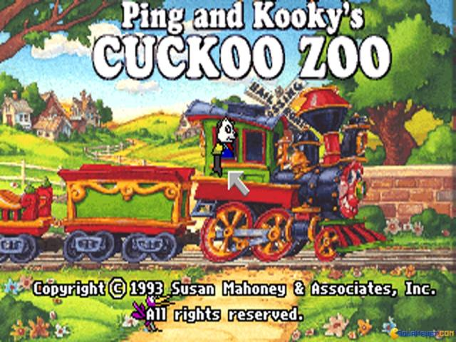Pong & Kooky's Cuckoo Zoo - title cover