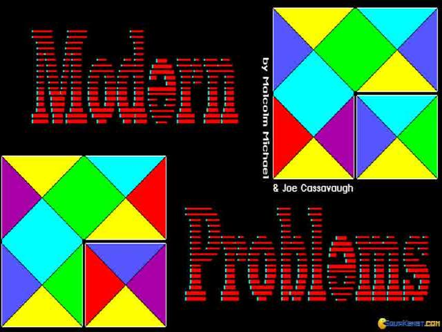 Modern Problems - title cover