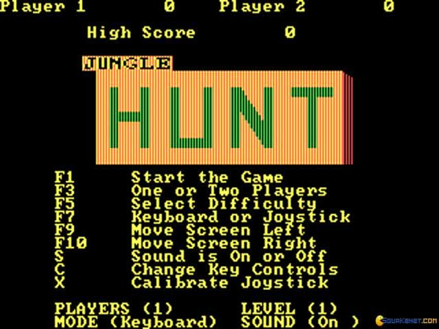 Jungle Hunt - title cover