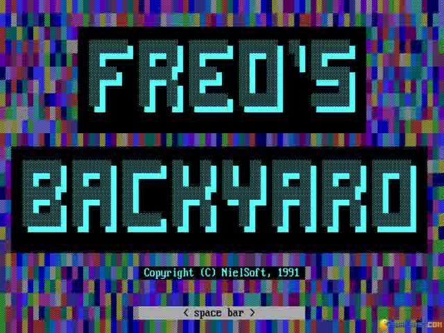 Fred's Backyard - game cover