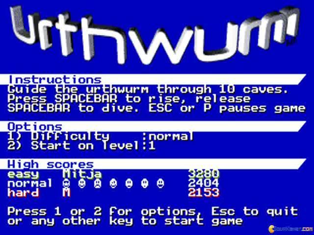 UrthWurm - title cover