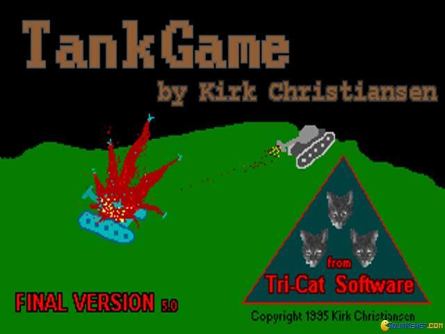 Tankgame - title cover