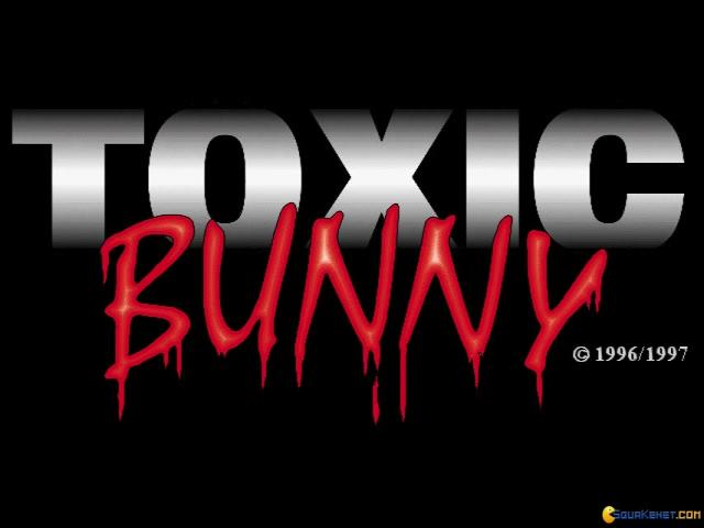 Toxic Bunny - title cover