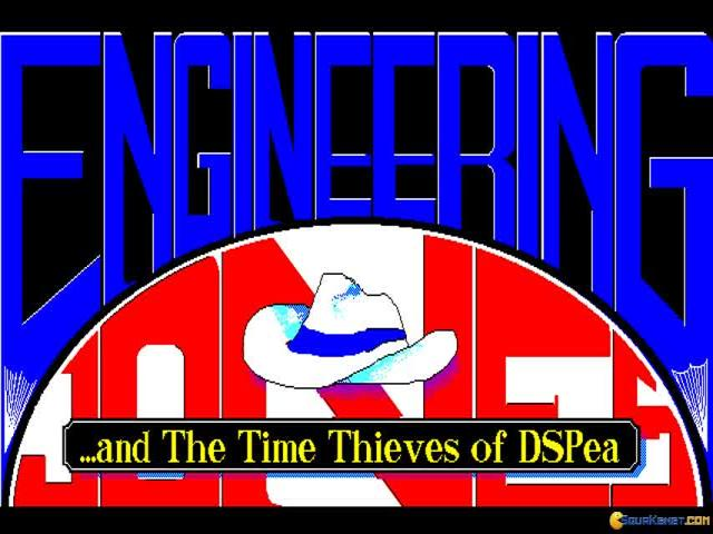 Engineering Jones and the Time Thieves of DSPea - title cover