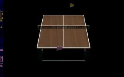 Table Tennis Pro - game cover