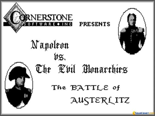 The Battle of Austerlitz - title cover