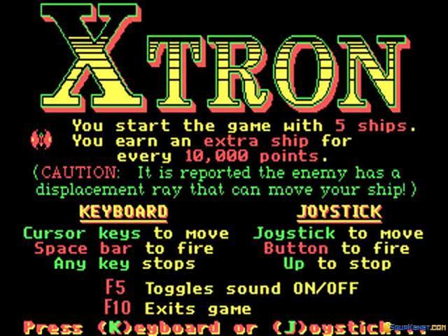 Xtron - title cover