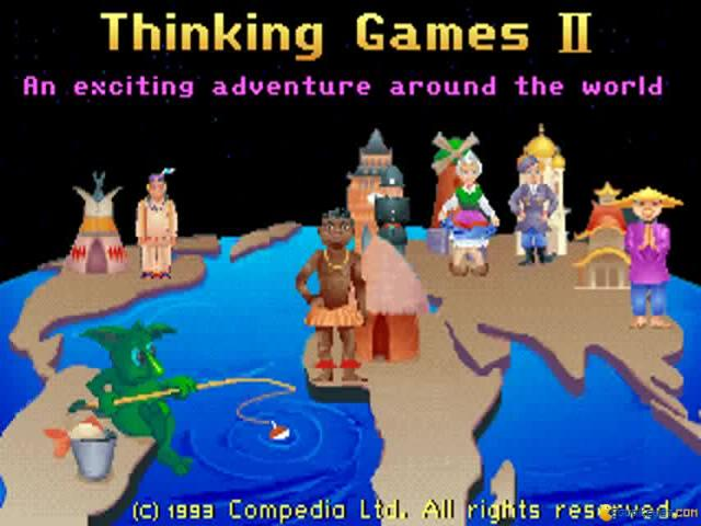 Thinking Games 2 - title cover