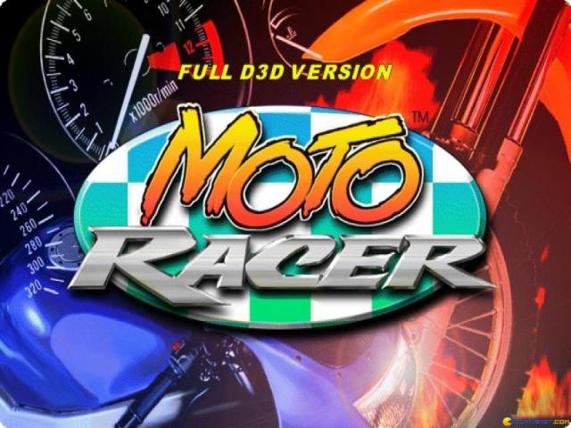 Moto Racer - game cover