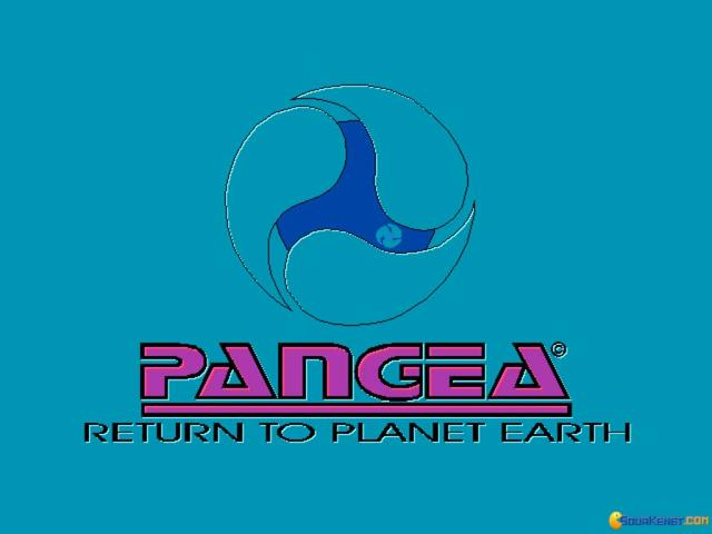 Pangea: Return to Planet Earth - title cover