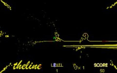 The Line - title cover