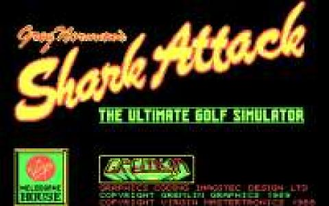 Greg Norman's Shark Attack! - title cover