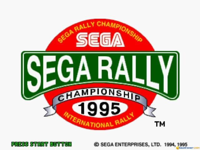 Sega Rally - title cover
