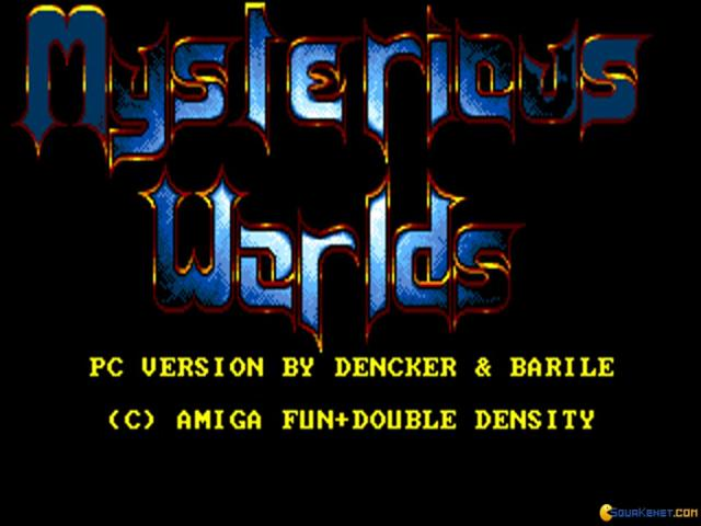 Mysterious Worlds - title cover