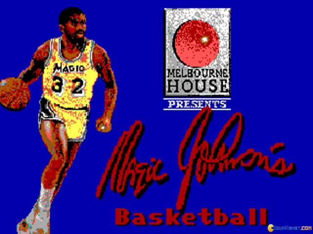 Magic Johnson's Basketball - game cover