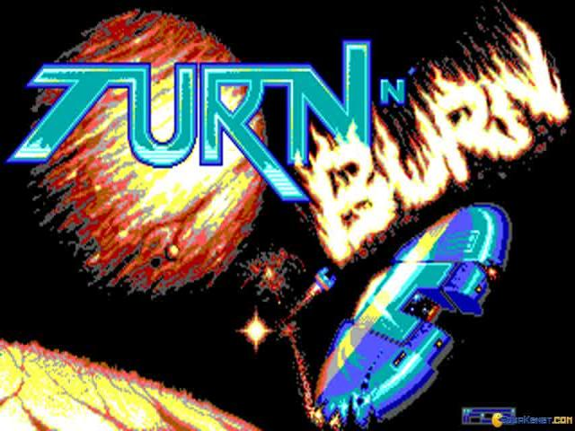 Turn 'n Burn - title cover