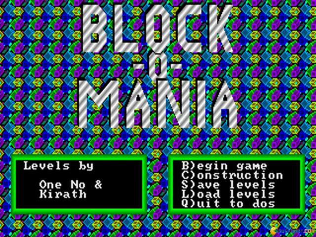 Block-O-Mania - title cover