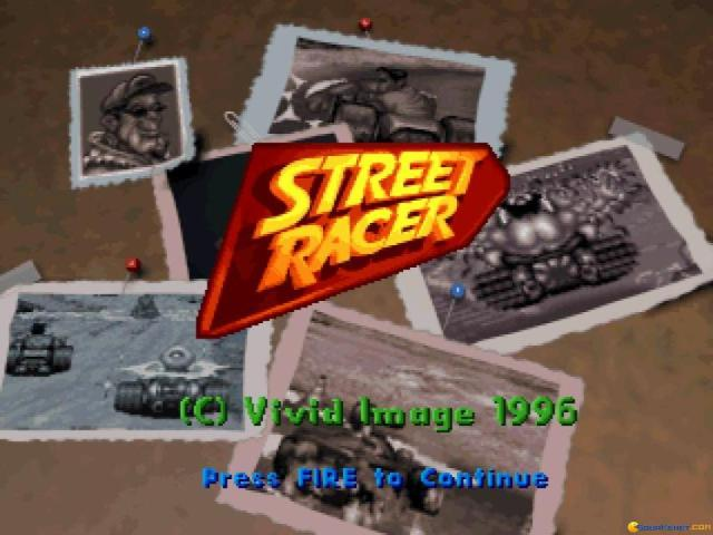 Street Racer - game cover