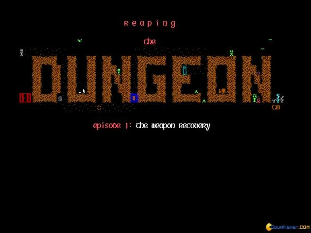 Reaping the Dungeon - title cover