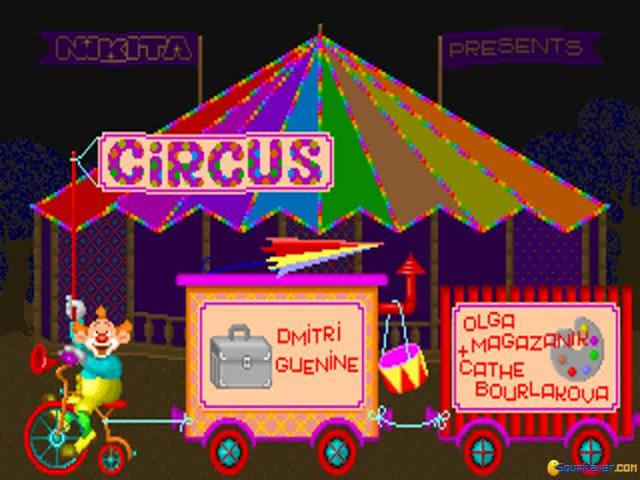 Circus - title cover