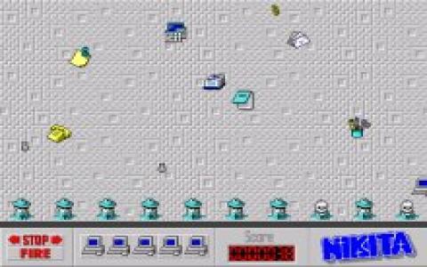 Floppy Killer - game cover