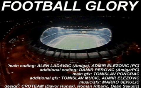 Football Glory - title cover