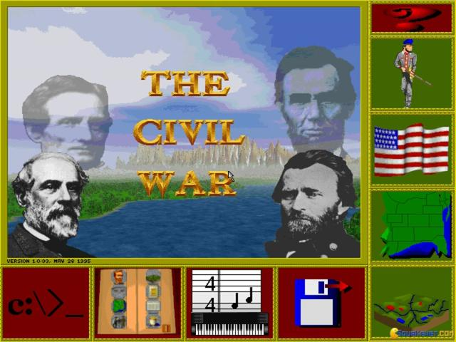 The Civil War - title cover