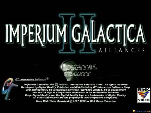 Imperium Galactica 2 - title cover