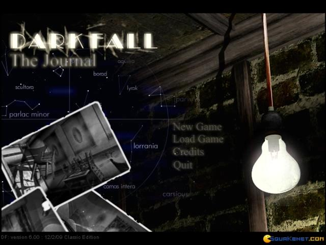 Dark Fall - title cover