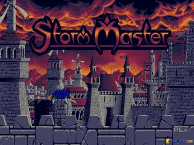 Storm Master - game cover