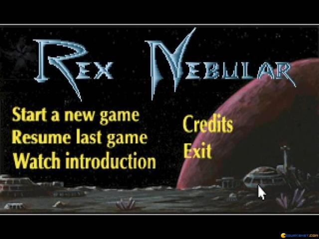 Rex Nebular - title cover