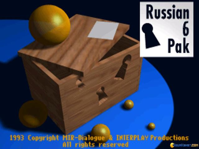 Russian 6 Pack - title cover