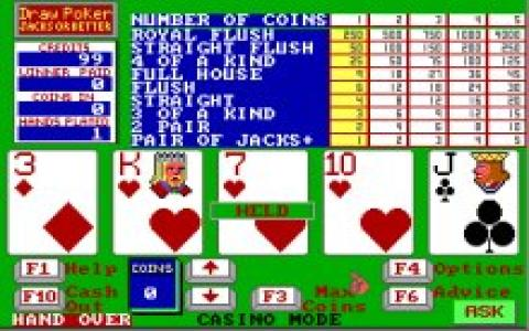 Stanford Wong Video Poker - game cover