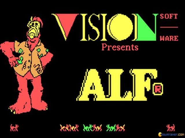 Alf's World of Words - title cover
