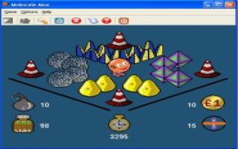 Molecule Man - game cover